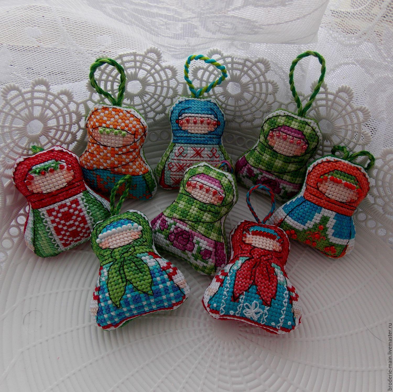 Вышивка для народной куклы