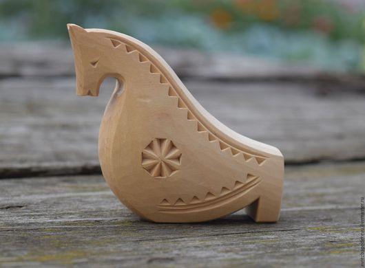 Сувениры ручной работы. Ярмарка Мастеров - ручная работа. Купить Свистулька из дерева в виде коня.. Handmade. Бежевый, резьба по дереву