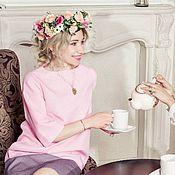 Одежда ручной работы. Ярмарка Мастеров - ручная работа Платье коктейльное Стефани. Handmade.