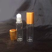 Материалы для творчества handmade. Livemaster - original item Perfume Rollerball 6 ml glass. Handmade.