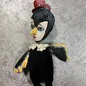 handmade. Livemaster - original item Whether a Raven or a penguin in the cylinder decoration. Handmade.