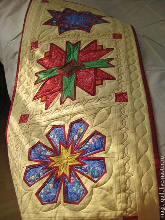 """Текстиль, ковры ручной работы. Ярмарка Мастеров - ручная работа. Купить Салфетка-панно """"Зимний сад"""". Handmade. Комбинированный, зимний"""