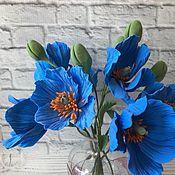 Цветы и флористика handmade. Livemaster - original item Bouquet of Himalayan poppies. Handmade.