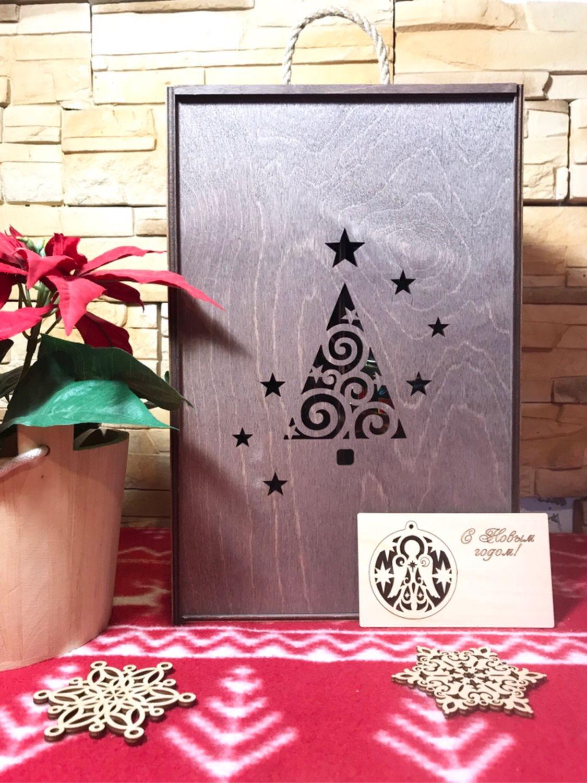 Ящик - пенал для подарков, Подарочная упаковка, Одинцово,  Фото №1