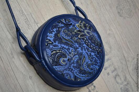 Женские сумки ручной работы. Ярмарка Мастеров - ручная работа. Купить Маленькая... синяя.... Handmade. Сумка, сумка на каждый день
