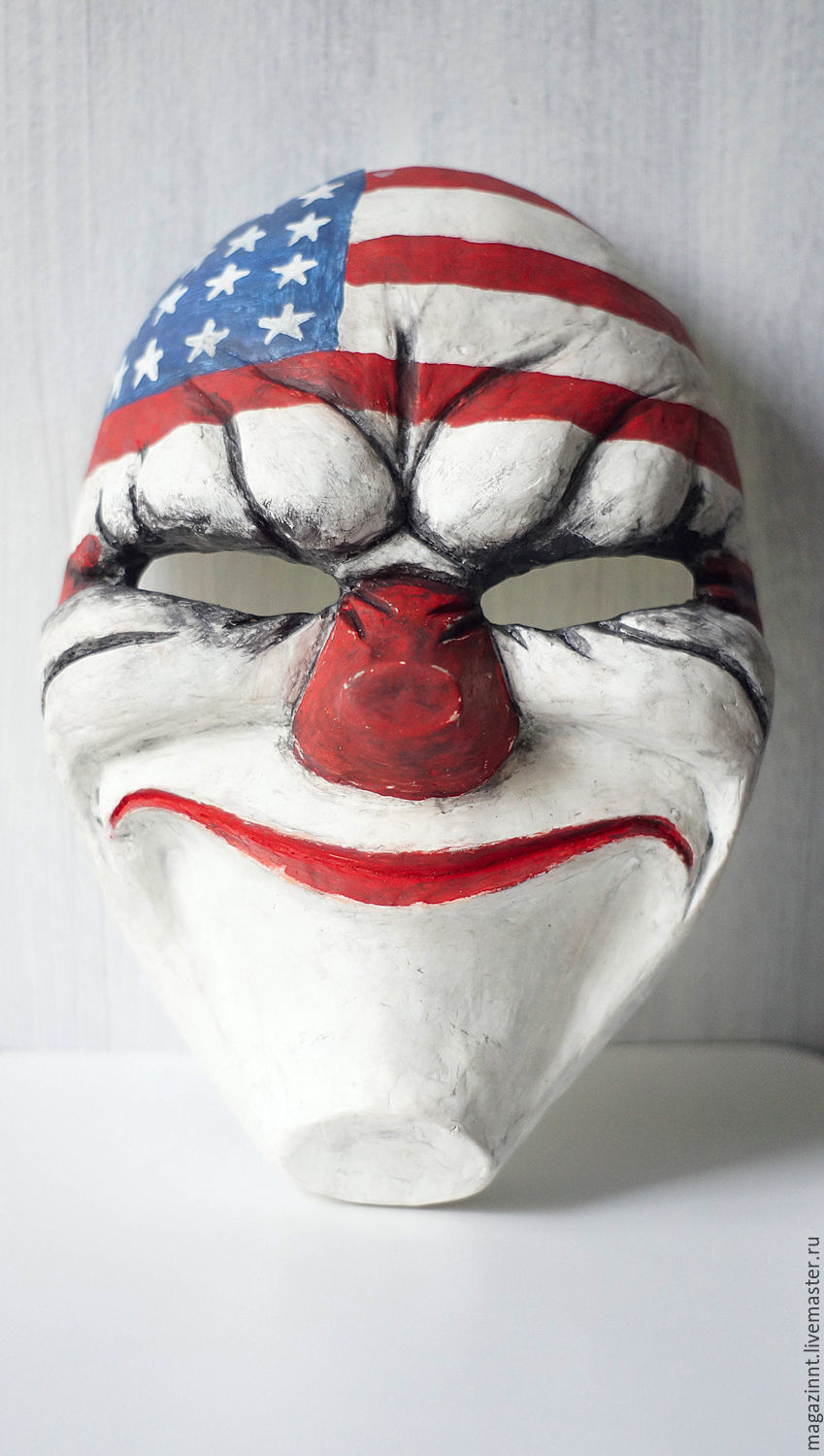 Dallas Payday2 Payday mask, Mask for role playing, Moscow,  Фото №1