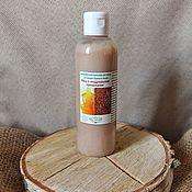 Косметика ручной работы handmade. Livemaster - original item Honey hair balm with pine nuts. Handmade.