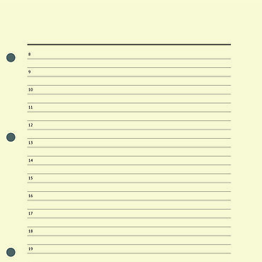 Stationery handmade. Livemaster - original item Refill diary without dates for A5 notebooks on the four rings. Handmade.