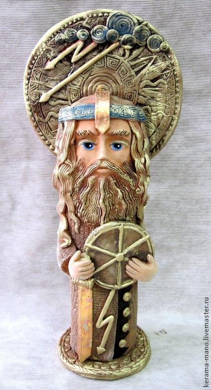 Перун - славянский бог, Статуэтки, Бердск, Фото №1