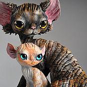 Подарки к праздникам handmade. Livemaster - original item Katrin, and baby Olsen. Handmade.