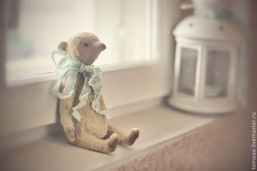Мишки Тедди ручной работы. Ярмарка Мастеров - ручная работа. Купить маленький мишка тедди. Handmade. Бежевый, медведь игрушка