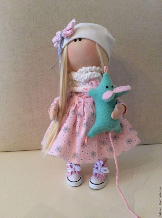 Куклы тыквоголовки ручной работы. Ярмарка Мастеров - ручная работа. Купить Amanda. Handmade. Комбинированный, кукла Тильда, кукольные волосы