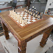 Столы ручной работы. Ярмарка Мастеров - ручная работа Стол шахматный.. Handmade.