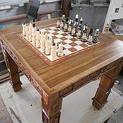 Для дома и интерьера ручной работы. Ярмарка Мастеров - ручная работа Стол шахматный.. Handmade.