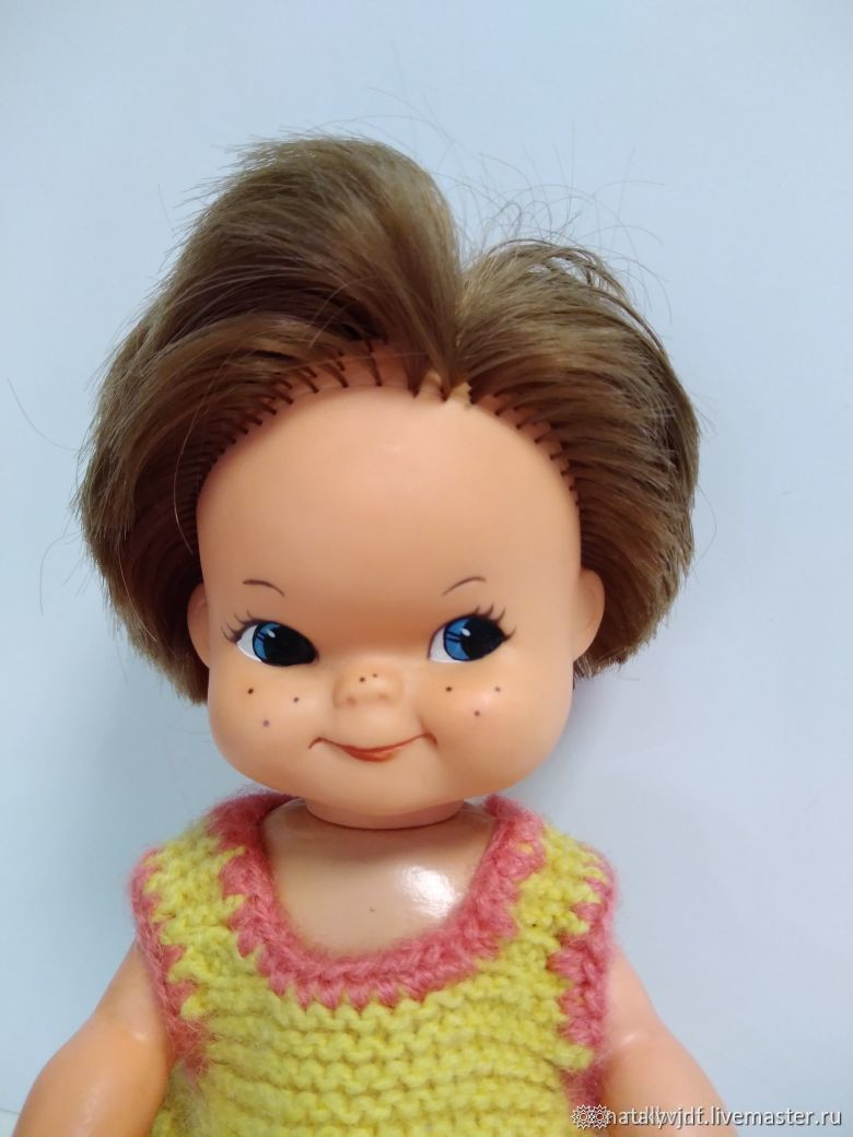 Винтаж: Виниловая немецкая кукла Charlot Byj Goebel, Куклы винтажные, Коломна,  Фото №1