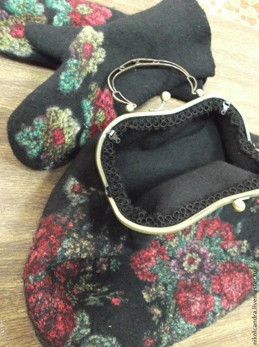 Женские сумки ручной работы. Ярмарка Мастеров - ручная работа. Купить сумки. Handmade. Черный, павловопосадский