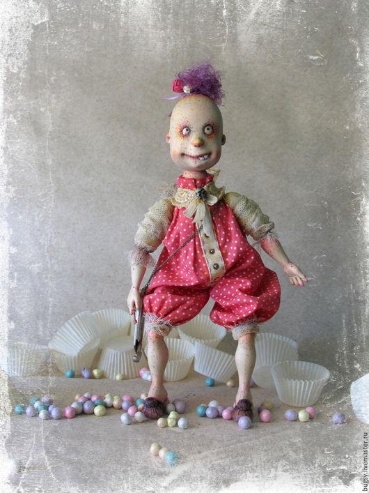Коллекционные куклы ручной работы. Ярмарка Мастеров - ручная работа. Купить Зу или зубная фея в частной коллекции. Handmade.