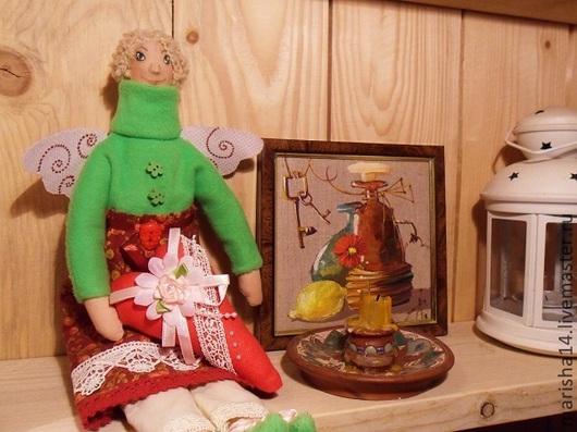 Куклы Тильды ручной работы. Ярмарка Мастеров - ручная работа. Купить Фея домашнего уюта (Тильда). Handmade. Фея