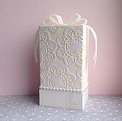 Свадебный салон ручной работы. Ярмарка Мастеров - ручная работа Свадебный подарочный набор Перламутровые цветы. Handmade.