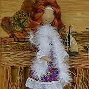 Куклы и игрушки ручной работы. Ярмарка Мастеров - ручная работа Ангел в боа. Handmade.