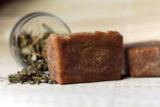 Травяное мыло с прополисом. Натуральное мыло с нуля.