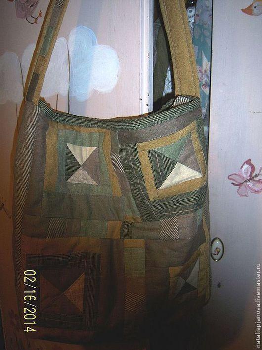 Женские сумки ручной работы. Ярмарка Мастеров - ручная работа. Купить Лоскутная сумка. Handmade. Абстрактный, для путешествий, пляжная сумка