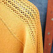 """Одежда ручной работы. Ярмарка Мастеров - ручная работа Джемпер из мериноса с кашемиром """"Avena"""". Handmade."""