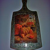 Для дома и интерьера handmade. Livemaster - original item Kitchen cutting Board Pumpkin. Handmade.