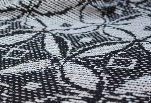 """Шитье ручной работы. Ярмарка Мастеров - ручная работа. Купить Шерсть пальтовая  """"Бабочки"""". Handmade. Черный, жакет, итальянские ткани"""