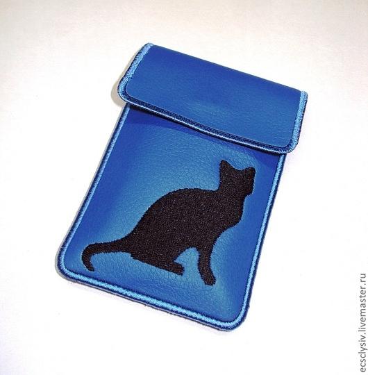 """Для телефонов ручной работы. Ярмарка Мастеров - ручная работа. Купить Чехол для сотового """"Я сегодня просто кошка... """". Handmade."""