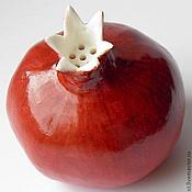 Для дома и интерьера ручной работы. Ярмарка Мастеров - ручная работа Гранат красный сахарница. Handmade.