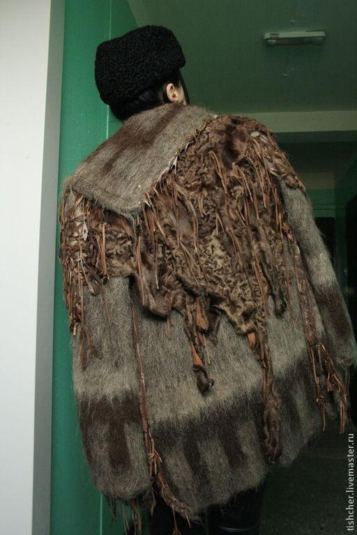 """Верхняя одежда ручной работы. Ярмарка Мастеров - ручная работа. Купить Пальто из шерсти, меха и кожи  """"Меховые фантазии"""". Handmade."""