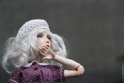 """Коллекционные куклы ручной работы. Ярмарка Мастеров - ручная работа. Купить Авторская шарнирная кукла """" Марта"""". Handmade. flumo"""