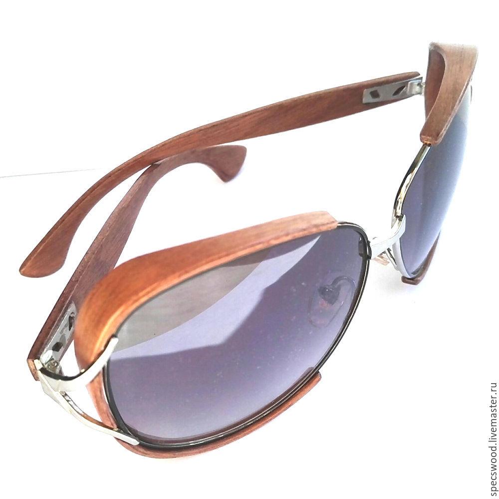 1134588871b8 Очки ручной работы. Ярмарка Мастеров - ручная работа. Купить Солнцезащитные  очки из дерева ...