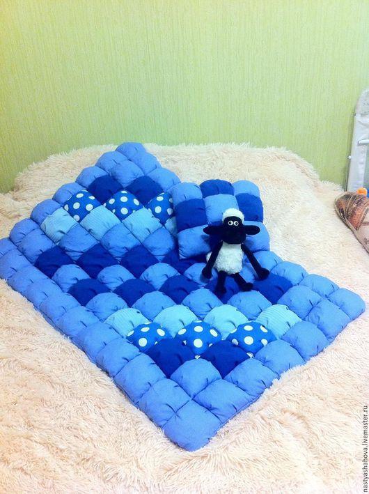 Пледы и одеяла ручной работы. Ярмарка Мастеров - ручная работа. Купить Детское одеяло Бомбон. Handmade. Комбинированный, лоскутное одеяло