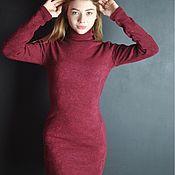 Платья ручной работы. Ярмарка Мастеров - ручная работа Теплое платье на осень. Handmade.