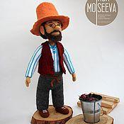 Куклы и игрушки ручной работы. Ярмарка Мастеров - ручная работа Петсон, войлочная кукла. Handmade.