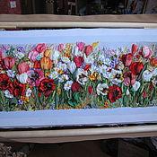 Для дома и интерьера ручной работы. Ярмарка Мастеров - ручная работа тюльпаны-вестники весны. Handmade.