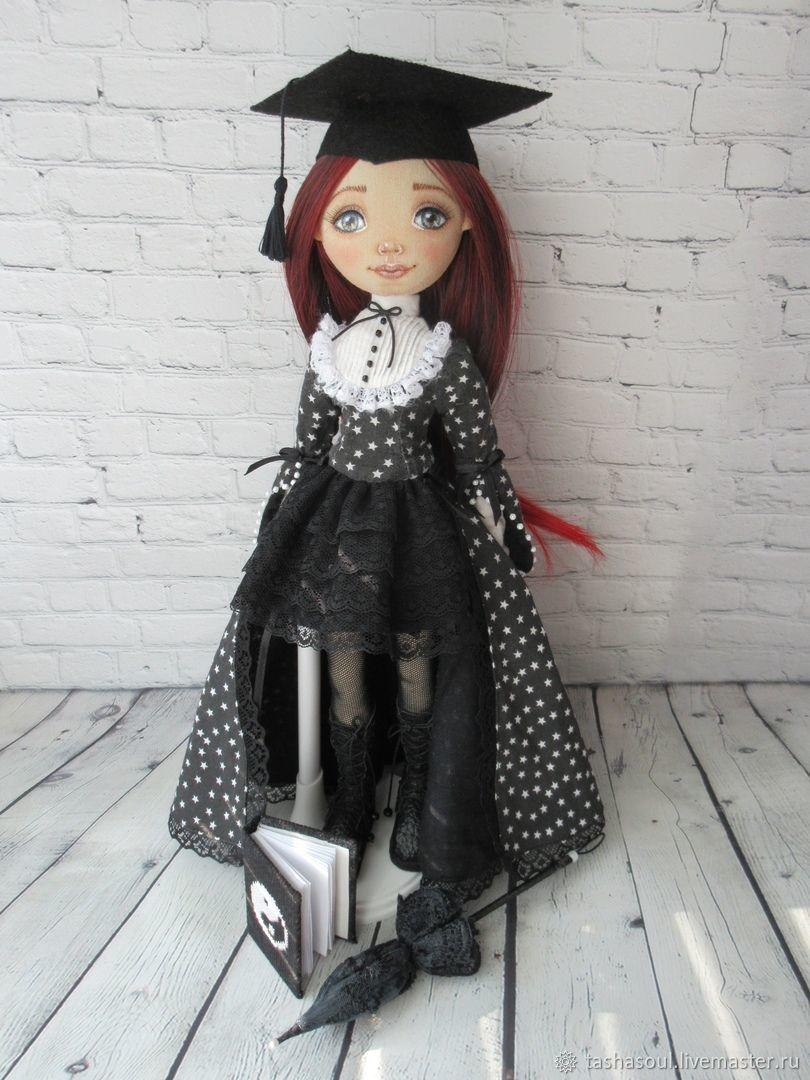 Текстильная кукла Выпускница Алиса, Куклы и пупсы, Балахна,  Фото №1