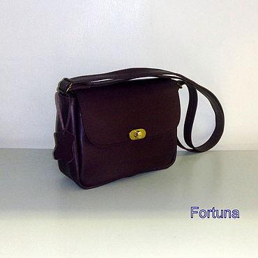 Bags and accessories handmade. Livemaster - original item Leather bag