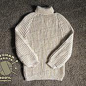 Одежда handmade. Livemaster - original item Sweater knitted of 100% sheep wool (No. №230). Handmade.