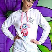 Одежда handmade. Livemaster - original item Sweatshirt-hoodie Alice. Handmade.
