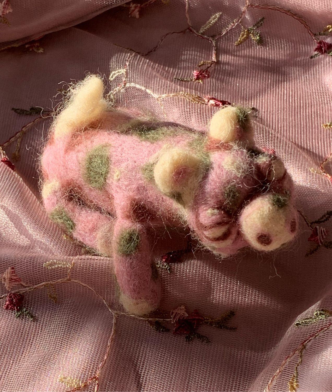 свинка сумятица, Войлочная игрушка, Ставрополь,  Фото №1