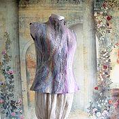 """Одежда ручной работы. Ярмарка Мастеров - ручная работа Жилет  """"Перламутр"""". Handmade."""