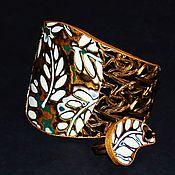 Украшения ручной работы. Ярмарка Мастеров - ручная работа Комплект браслет+кольцо. Handmade.