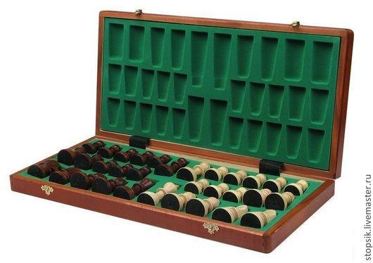 Настольные игры ручной работы. Ярмарка Мастеров - ручная работа. Купить Шахматы Стаунтон (махагон) (29009). Handmade. Шахматы, липа