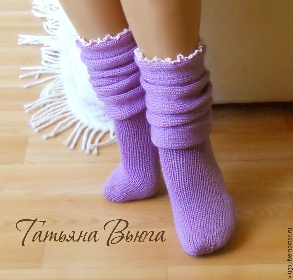 Вязание носков как сапожки 640