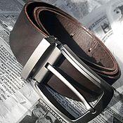 handmade. Livemaster - original item Leather belt men`s. Handmade.