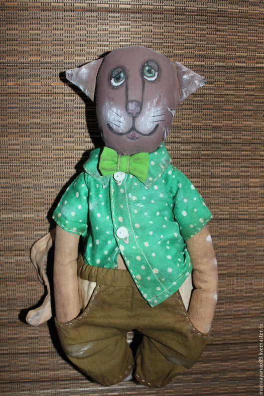 Игрушки животные, ручной работы. Ярмарка Мастеров - ручная работа. Купить Котэ-мартовский. Handmade. Кот, котэ, кот в подарок