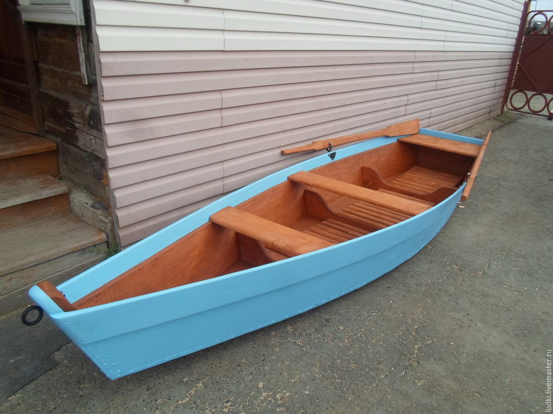 Лодка деревянная (декоративная), Изделия, Екатеринбург, Фото №1